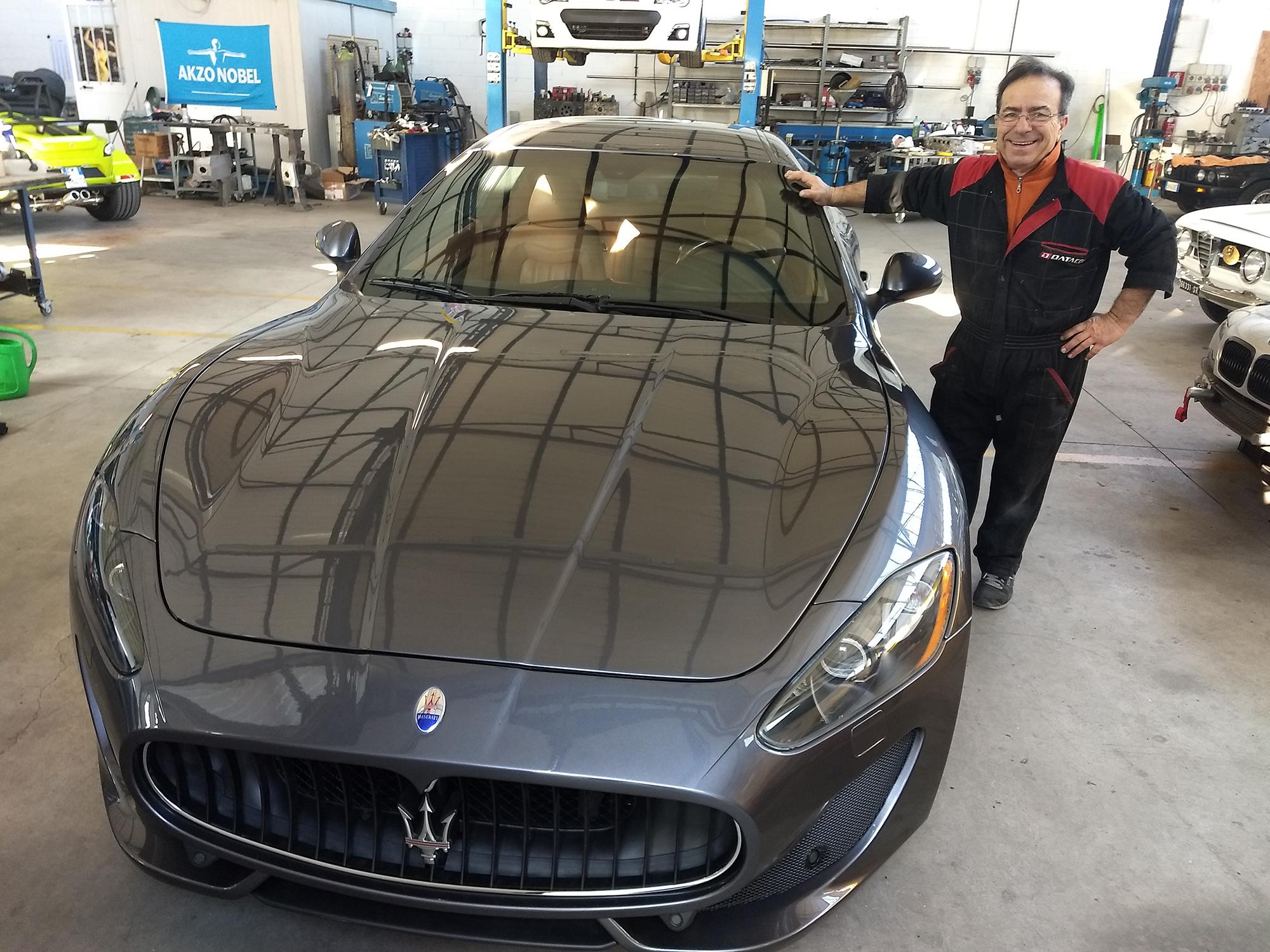Ennio e la Maserati - Carrozzeria Fontane