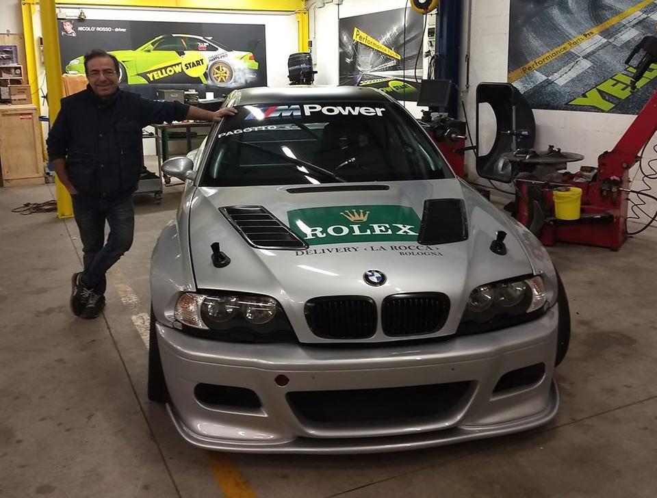 BMW da Gara con Ennio