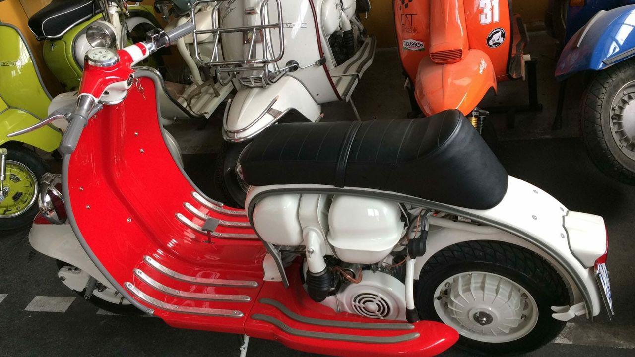 restauro auto e moto d'epoca Lambretta